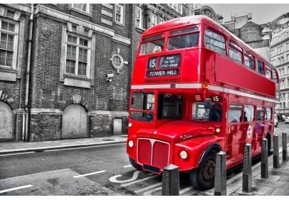 Фотообои: Bus Tower Hill